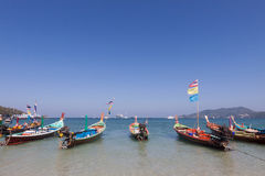 Traditional thai longtail boat Stock Image
