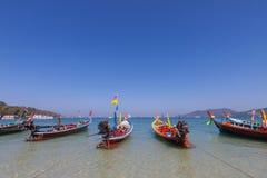 Traditional thai longtail boat at  Phuket,Thailand Royalty Free Stock Image
