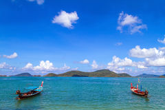 Traditional thai longtail boat Royalty Free Stock Photo