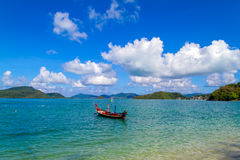 Traditional thai longtail boat Royalty Free Stock Images