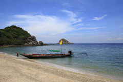 Traditional Thai longtail boat Stock Photos