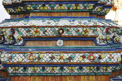 Traditional Thai Motif detail Royalty Free Stock Images