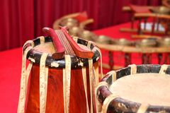 Traditional Thai musical instruments Royalty Free Stock Images