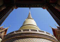Traditional Thai pagoda Stock Image