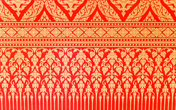 Traditional Thai pattern Stock Image