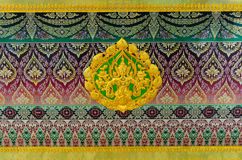 Traditional Thai Pattern art Stock Photography