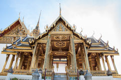 Traditional Thai pavilion, Grand Palace, Bangkok, Thailand Royalty Free Stock Photography