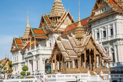 Traditional Thai pavilion, Grand Palace, Bangkok, Thailand Royalty Free Stock Photos