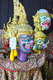 Traditional Thai Puppet, Thai literature Ramayana. Stock Image