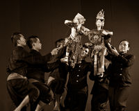 Traditional Thai Puppet Theater Stock Images