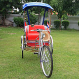Traditional Thai Rickshaw or tricycle Royalty Free Stock Images