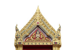 Traditional Thai roofs and gables. Gable garden, green, historical, home, house, landscape life, ancient Royalty Free Stock Image