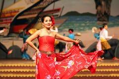 Traditional Thai show in a Nongnooch Garden in Pattaya, Thailand Stock Photos