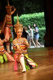 Traditional Thai show in Nongnooch Garden in Pattaya, Thailand Stock Photography
