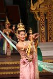 Traditional Thai show in Nongnooch Garden in Pattaya, Thailand Royalty Free Stock Photo