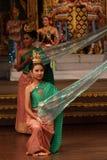 Traditional Thai show in Nongnooch Garden in Pattaya, Thailand Royalty Free Stock Photos