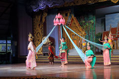Traditional Thai show Stock Image