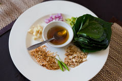 Traditional thai snack Miang Kham Royalty Free Stock Photos