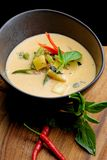 Traditional thai spicy red curry Royalty Free Stock Images