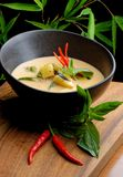 Traditional thai spicy red curry Royalty Free Stock Photo