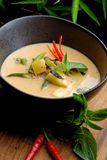 Traditional thai spicy red curry Royalty Free Stock Photography