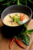 Traditional thai spicy red curry Stock Photography