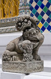 Traditional thai statue at grand palace Royalty Free Stock Photos
