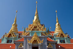 Traditional Thai style architecture Royalty Free Stock Photography