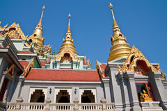 Traditional Thai style architecture Stock Photography