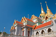 Traditional Thai style architecture Royalty Free Stock Photos