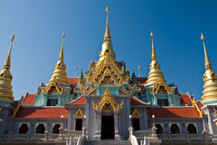 Traditional Thai style architecture. Pattern of traditional Thai style Stock Images