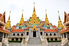 Traditional Thai style architecture Royalty Free Stock Images