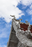 The Traditional Thai style art of stucco in  The City Pillar  Shrine Royalty Free Stock Images
