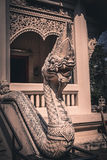 Traditional Thai style art of stucco in temple. Stock Photography
