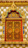 Traditional Thai style art of stucco in temple. Stock Photos
