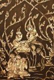 Traditional Thai style art Stock Photo