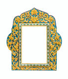 Traditional Thai style frame Royalty Free Stock Photo