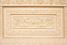 Traditional Thai style molding art Stock Image