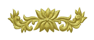 Traditional Thai Style Molding Art Stock Photos