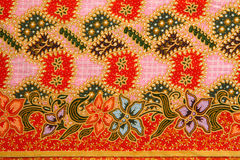 Traditional Thai style native fabric weave Stock Photos