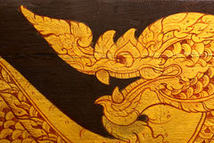 Traditional Thai style painting Royalty Free Stock Photo