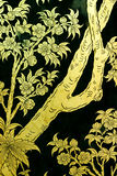 Traditional Thai style painting art. Classical Traditional Thai style painting art. it must found in a temple Royalty Free Stock Photos