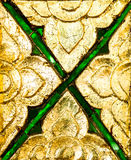 Traditional Thai style pattern. Close up Stock Images