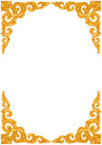 Traditional Thai style pattern decorative Royalty Free Stock Photo