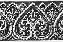 Traditional Thai style pattern decorative . Royalty Free Stock Photo