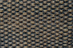 Traditional thai style pattern nature background of brown handic Stock Image