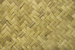 Traditional thai style pattern nature background. Of brown handicraft weave texture bamboo surface for furniture materia Stock Photography