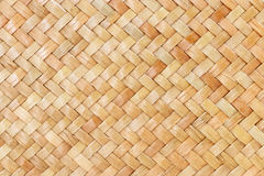 Traditional thai style pattern nature background of brown handicraft weave texture wicker surface for furniture materia Stock Images
