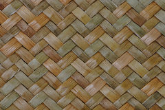 Traditional thai style pattern nature background of brown handicraft weave texture wicker surface for furniture materia Stock Image