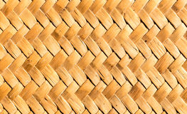 Traditional thai style pattern nature background. Of handicraft weave texture wicker surface Stock Images